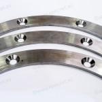 3/4 of a bisalloy locking ring for Mining Australia, CNC Machining Perth