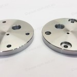 Steel pressure chamber pulling device for Oil & Gas, prototype machining Perth