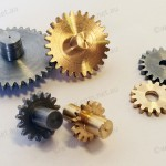 Brass & steel drive gears for Oil & Gas